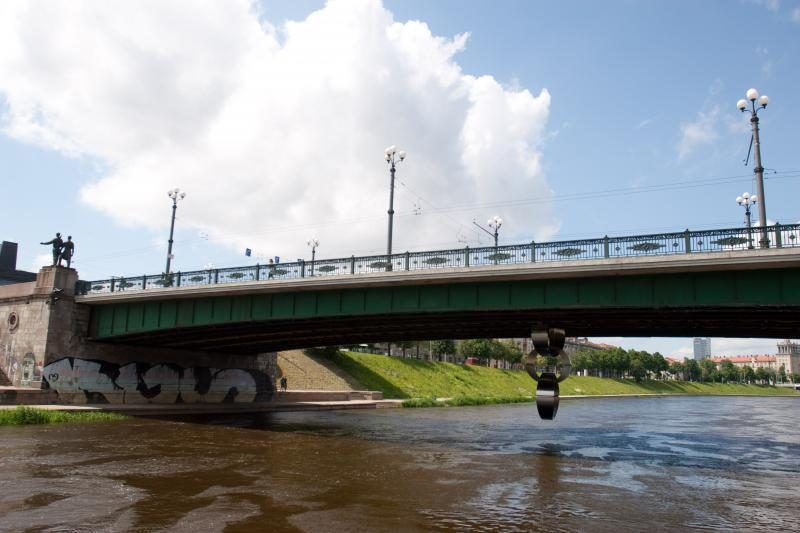 Neries upėje Vilniuje rastas vyro kūnas