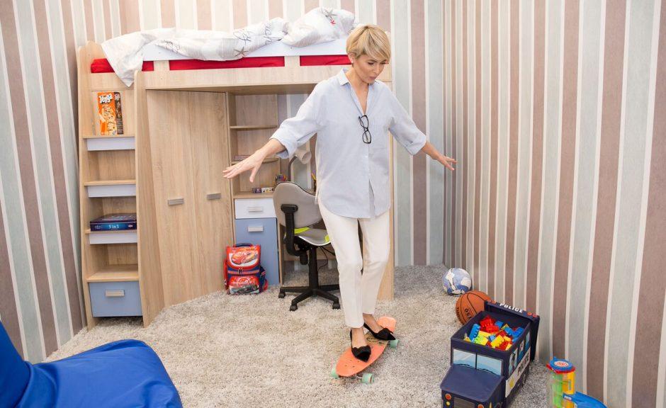 A. Jagelavičiūtė pataria: kaip stilingai įrengti mokyklinuko kambarį?