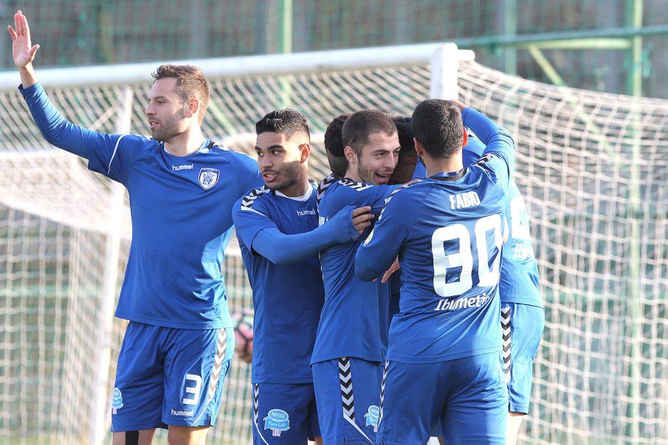 """""""Stumbro"""" futbolininkai išsaugojo vietą A lygoje"""
