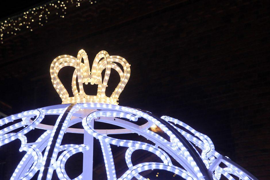 Šventėms pasipuošęs Kaunas