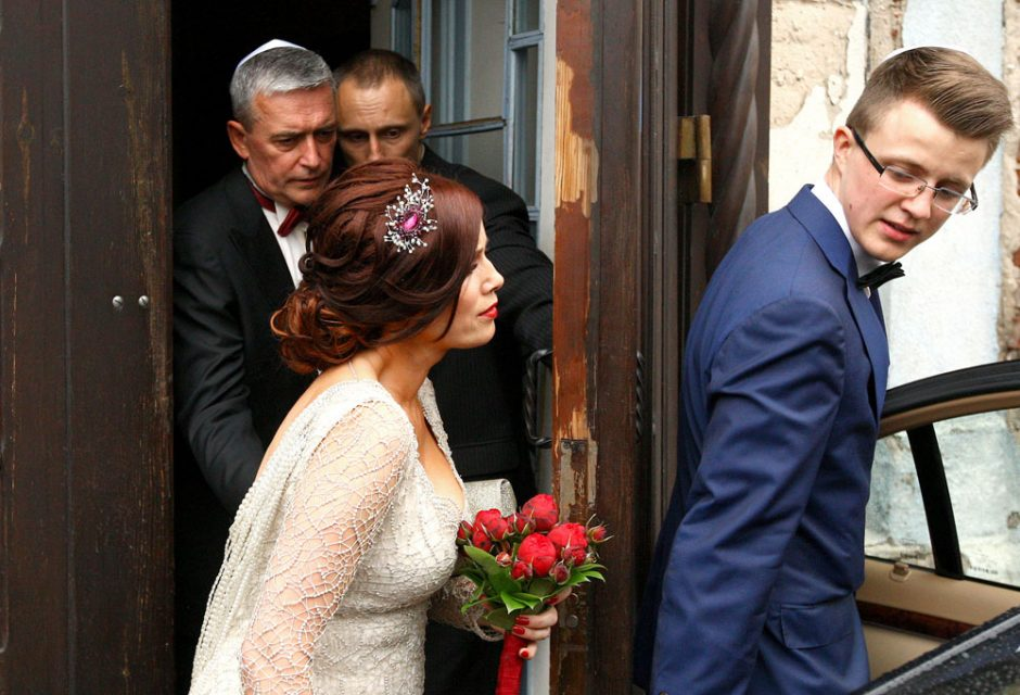 Eriko Tamašausko vestuvės