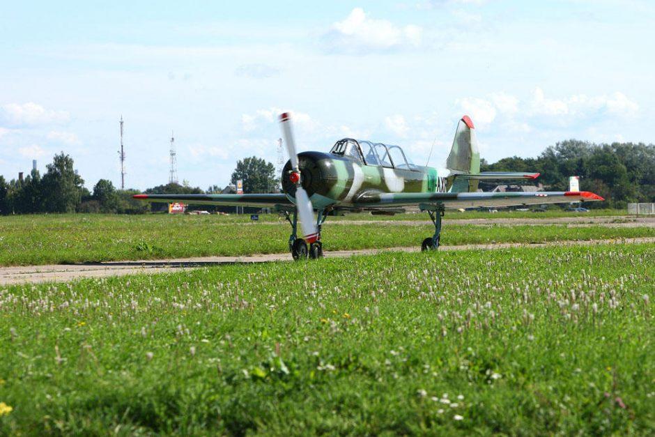 Kauno padangę užvaldė geriausi šalies pilotai