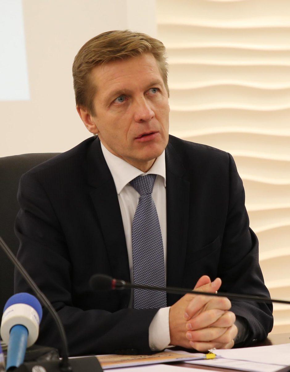 Klaipėdos uosto vadovas: uostas privalo plėstis