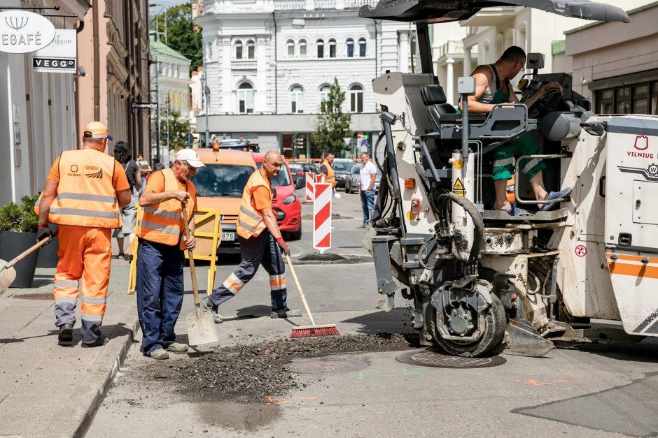 Vilniuje atnaujinama Totorių gatvė