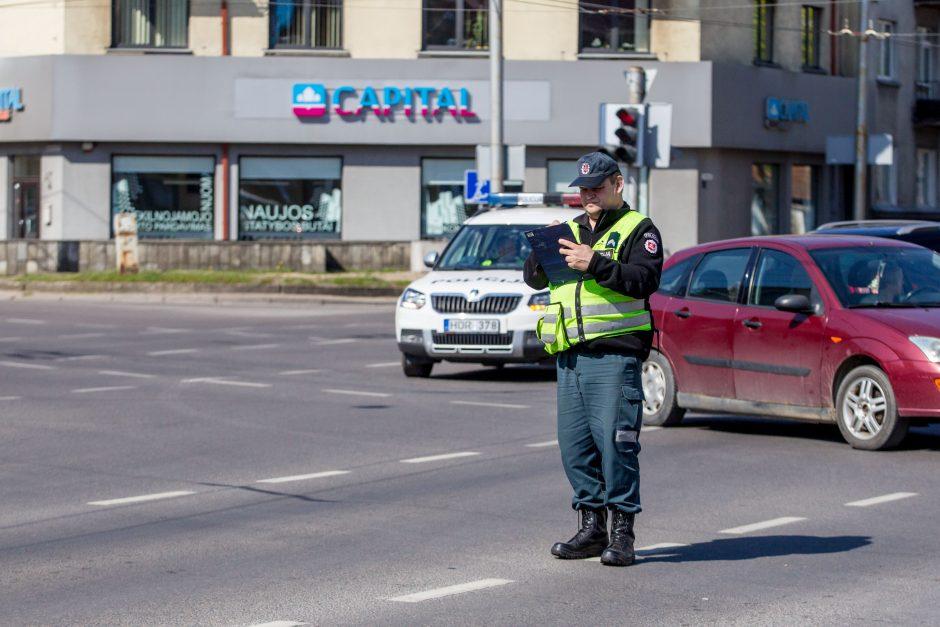 Judrioje Kauno sankryžoje – trijų automobilių avarija
