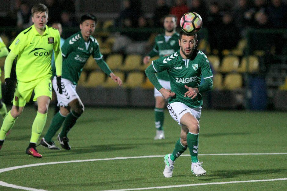 """A lyga: """"Kauno Žalgiris"""" – FK """"Trakai"""" 1:1"""
