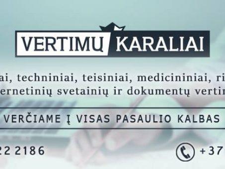 Skelbimas - Vertimo paslaugos įmonėms ir privatiems į / iš 40 kalbų