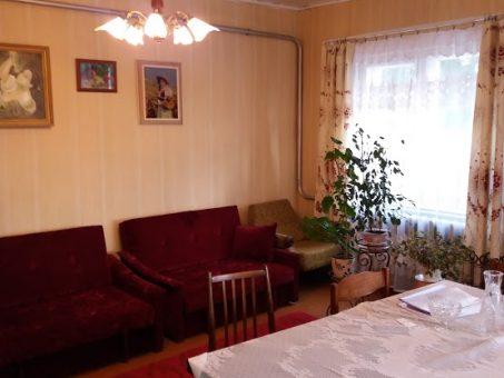 Skelbimas - Parduodamas tvarkingas rąstinis apmūrintas namas Palomenėje, Kaišiador