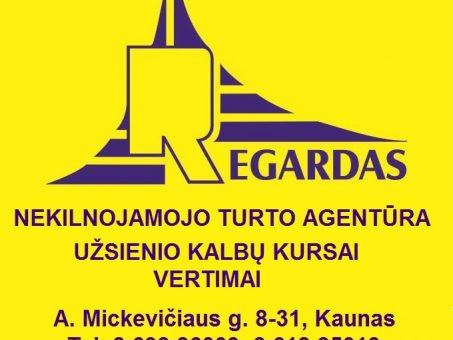 Skelbimas - Vertimai Kauno centre, A. Mickevičiaus g.