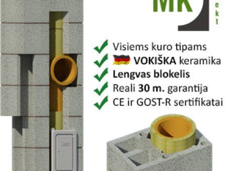 Skelbimas - MK Kolekt kaminams -45%nuolaida