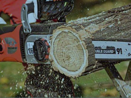 Skelbimas - Elektrinis grandininis pjūklas 2400W Grizzly EKS 2440 QT