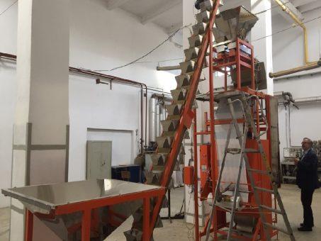 Skelbimas - birių produktų (granulių ) fasavimo įrengimai
