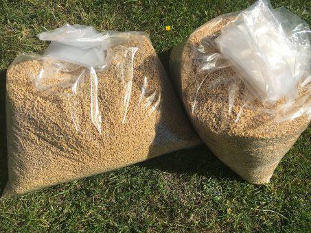 Skelbimas - Pieno granulės / Reikmenys šinšilu auginimui