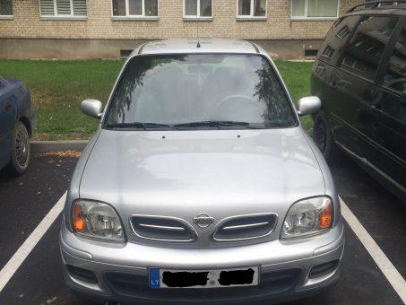 Skelbimas - Nissan Micra 2001m
