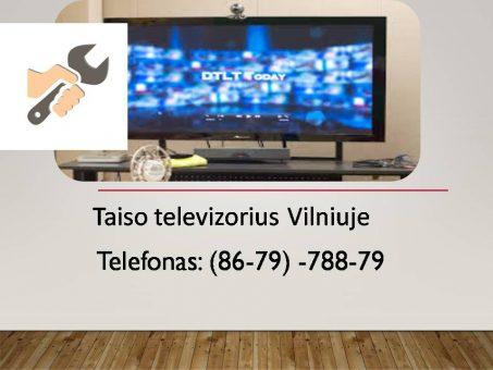 Skelbimas - Taiso televizorius Vilniuje 867978879