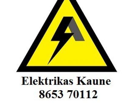 Skelbimas - Elektrikas Kaune 8653 70112