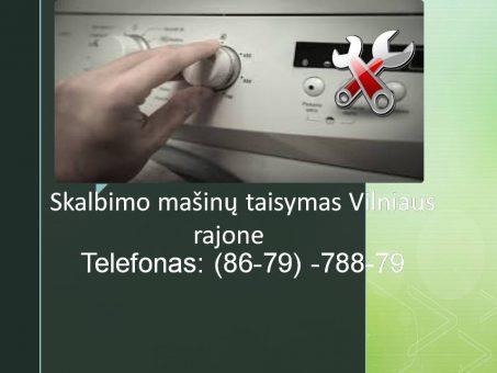 Skelbimas - Skalbimo masinu taisymas Vilniaus rajone 867978879