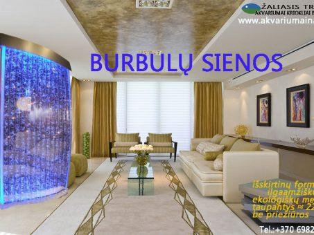 Skelbimas - Burbulų sienos Vandens sienelės