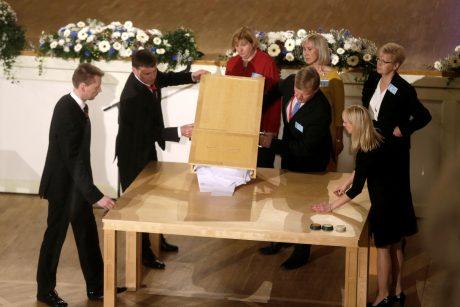 Estijos rinkikų kolegija nesugebėjo išrinkti prezidento