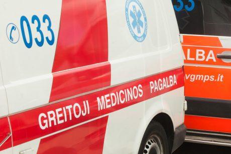 Lazdijų rajone sunkiai sužeistas 15-metis dviratininkas