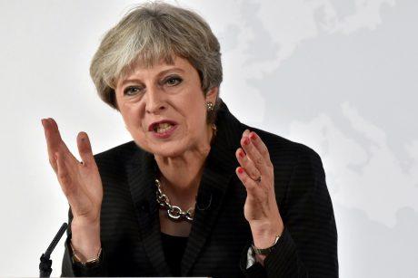 "ES giria Th. May kalba dėl ""Brexit"""