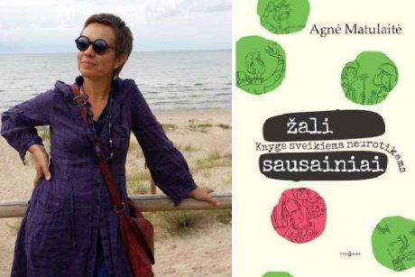 A. Matulaitė Klaipėdoje pristatys savo knygą sveikiems neurotikams