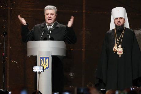 Ukrainos ortodoksų sinodas įkūrė nuo Rusijos nepriklausomą Bažnyčią