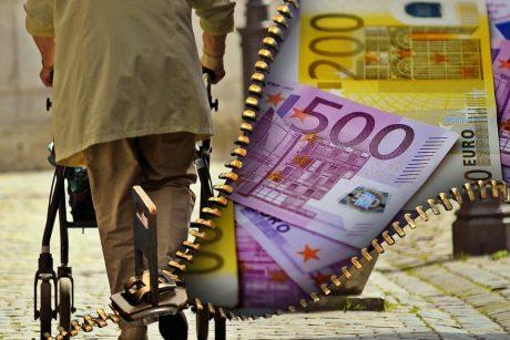 """""""Sodros"""" biudžetas: kiek didės pensijos ir mažės jų gavėjų"""