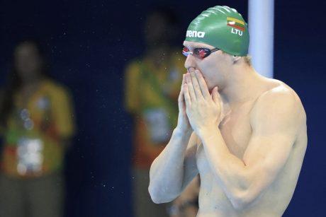 Plaukikas S. Bilis pagerino Lietuvos rekordą ir pateko į finalą