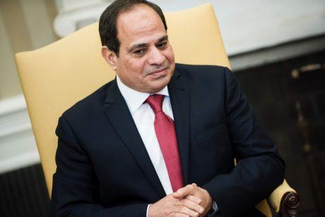 Egipto prezidentas rinkimuose rimtų konkurentų neturės