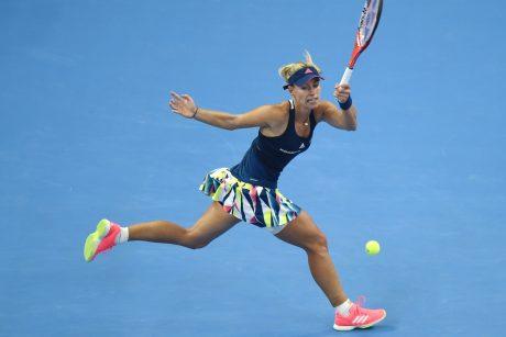 Geriausia planetos tenisininkė pergalę iškovojo per šiek tiek daugiau nei valandą