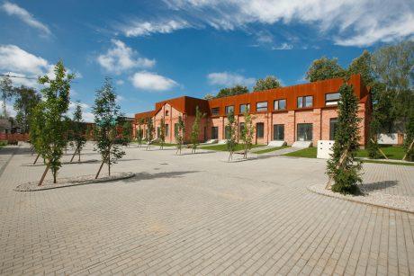 Kvartalo atgimimas: gyvenamasis būstas kartu su mokykla ir darželiu