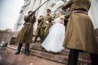 Garbės sargyba bendražygio vestuvėse