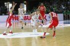 Kontrolinės vyrų krepšinio rungtynės: Lietuva - Tunisas