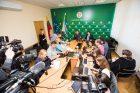 Spaudos konferencija dėl žudynių Kauno rajone