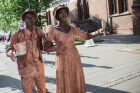 Hanzos dienose – gyvos skulptūros