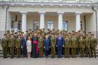 Karo akademijos absolventams – pirmasis karininko laipsnis
