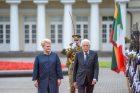 Lietuvoje vieši Italijos prezidentas
