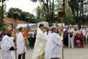 Atlaidai Palangoje virto kunigo palydomis