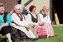 Klaipėdos užmiesčio sodybą okupavo folkloro festivalis