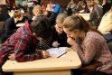 Mokiniai rungėsi informacinių technologijų viktorinoje