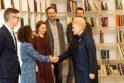 Prezidentė susitiko su partizanų atminimo puoselėtojais