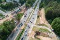 Prasideda T. Narbuto g. viaduko sijų montavimas (bus eismo pakeitimų)