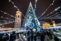 Spindinti sostinė šviečia Kalėdų nuotaika