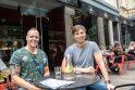 """Svarbiausia: """"Grill London"""" restoranų tinklo bendraturčiai Andrius Bakanas ir Andrius Lavrinavičius įsitikino: jei nenuleisi kokybės kartelės, sėkmė nenusigręš."""