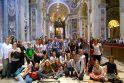 Popiežiaus vizito atgarsiai: Kauno choristams – išskirtinis Šventojo Tėvo dėmesys