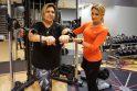 """Lijana sveikatingumo klube """"Apelsinas"""" sportuoja nuo pat jo įkūrimo."""