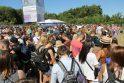 Srautas: Karklės festivalis masina minias pramogautojų.