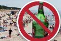 Pokyčiai: greitai atsivėsinti alumi paplūdimyje poilsiautojai galės nebent pasislėpę.