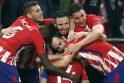 """""""Atletico"""" futbolininkai trečią kartą triumfavo Europos lygoje"""